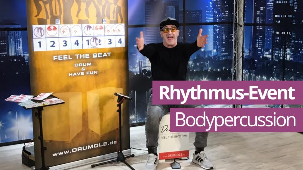 Online Bodypercussion-Event